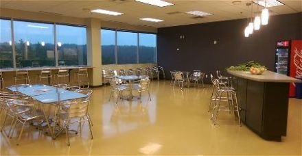 Painting a company break room in Rio Rancho New Mexico