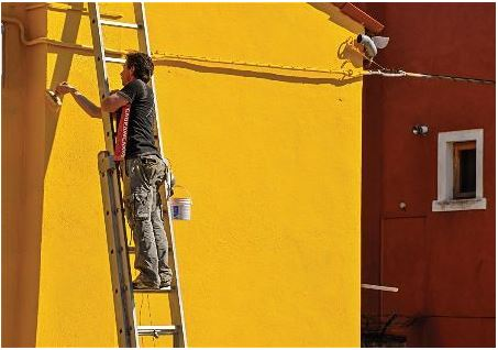 Rio Rancho New Mexico Painters Yellow Residential